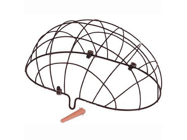 Basil Pluto Front Wheel Animal Basket wire mesh schwarz